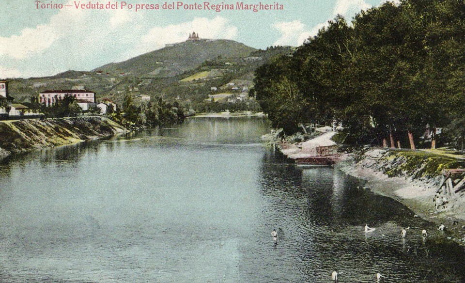 Dal ponte Regina Margherita