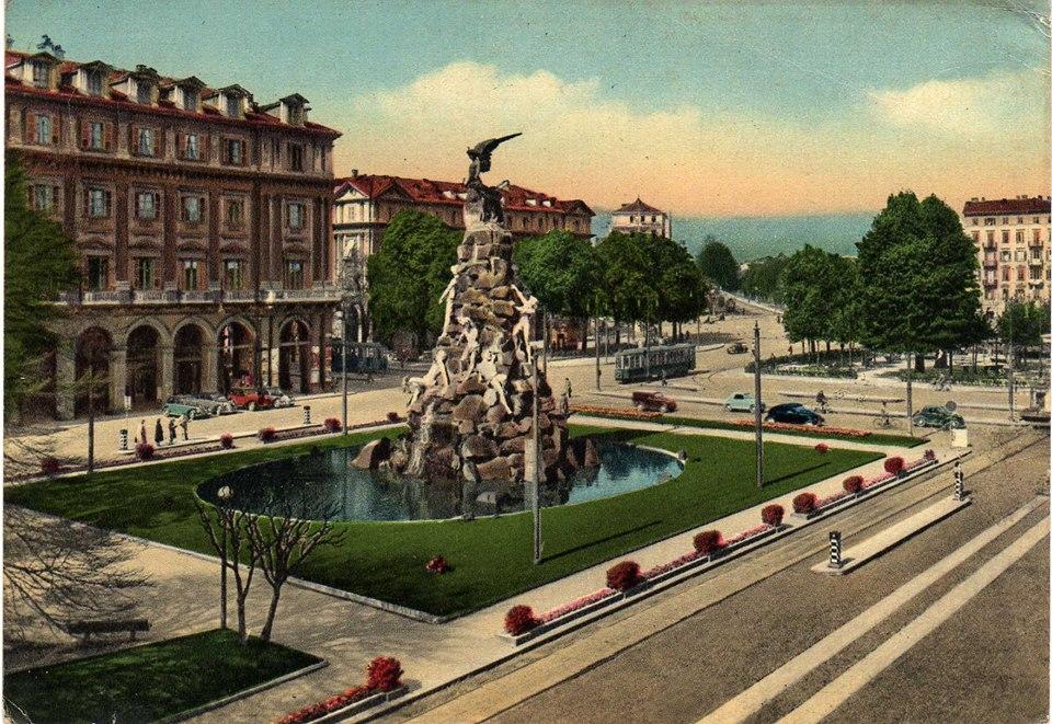 Piazza Statuto.