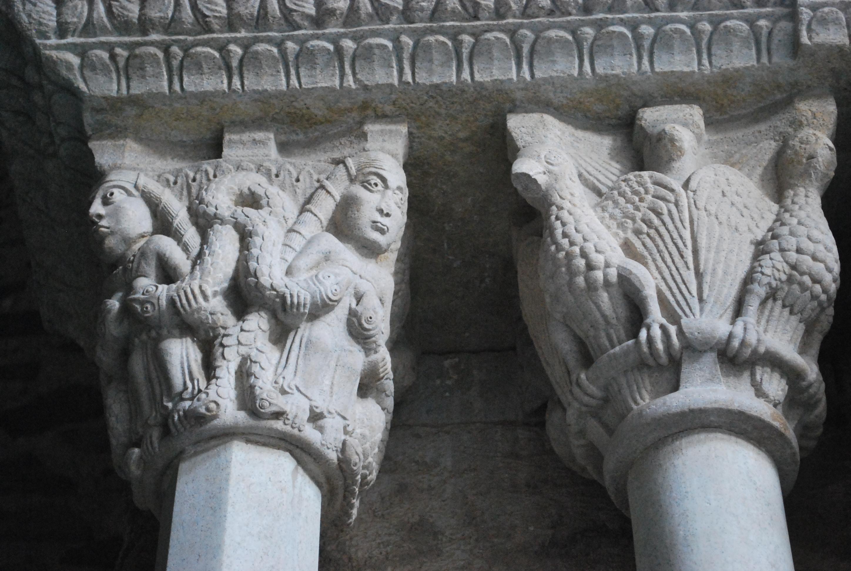 Sacra San Michele Particolare porta dello zodiaco