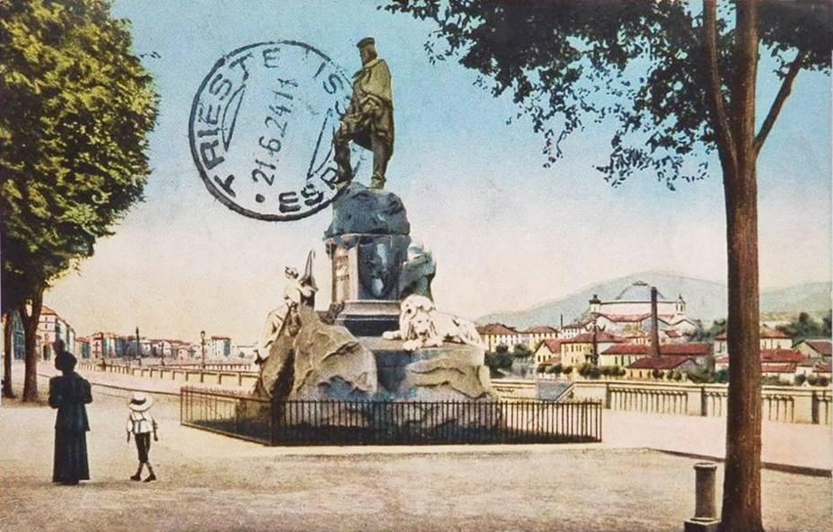 Torino monumento a Garibaldi