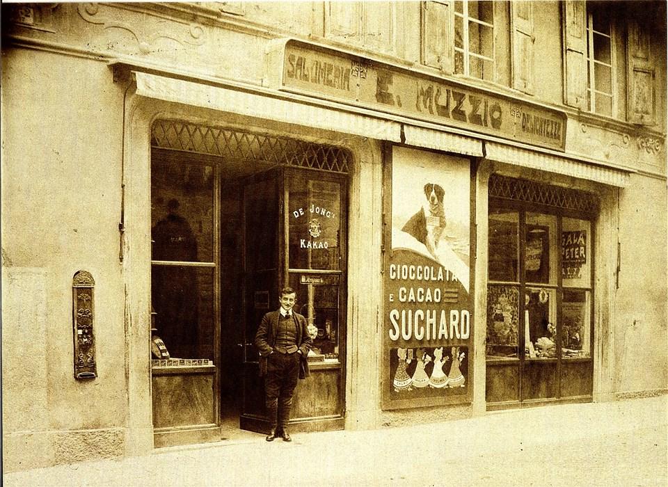 Via Garibaldi anni '20