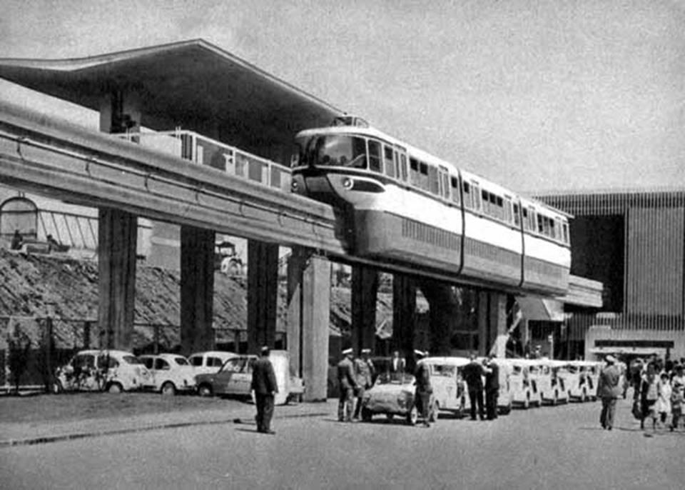 1961 Stazione nord monorotaia