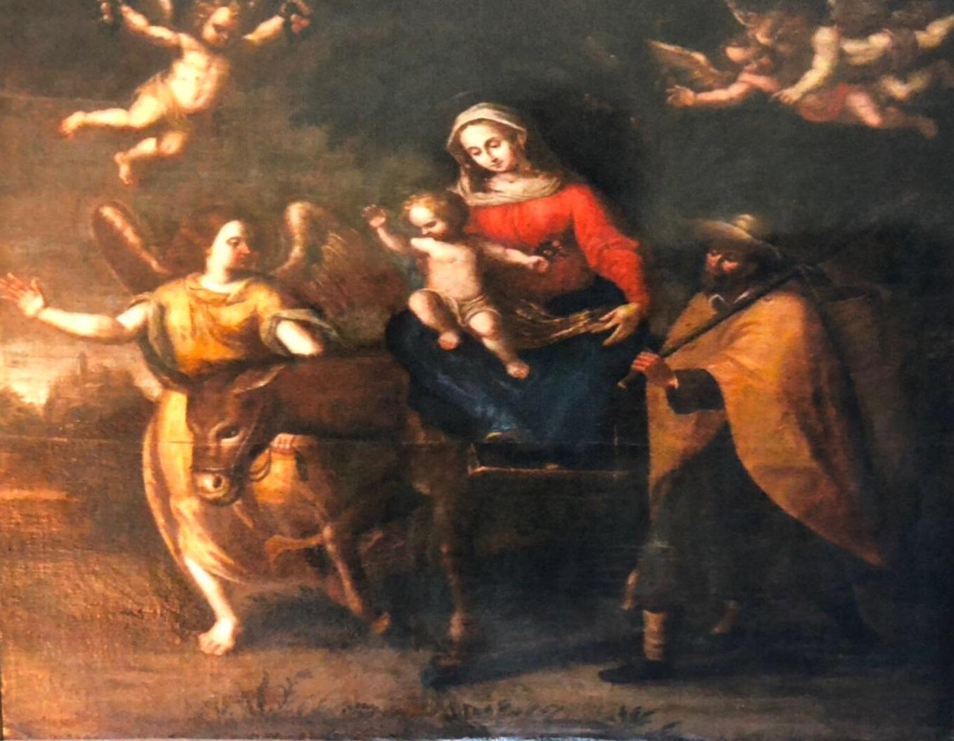 """Photo of Quei pregiati dipinti """"scoperti"""" durante una funzione religiosa"""