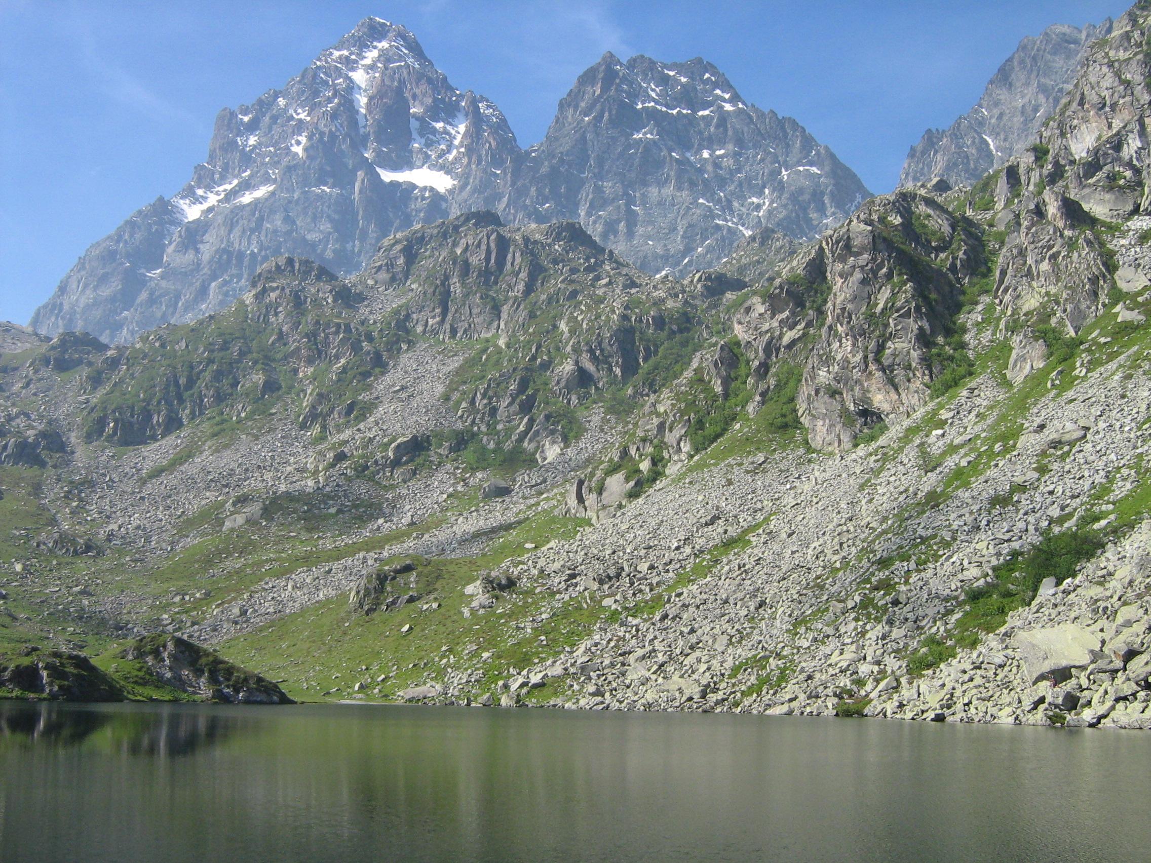 Monviso dal Lago Fiorenza