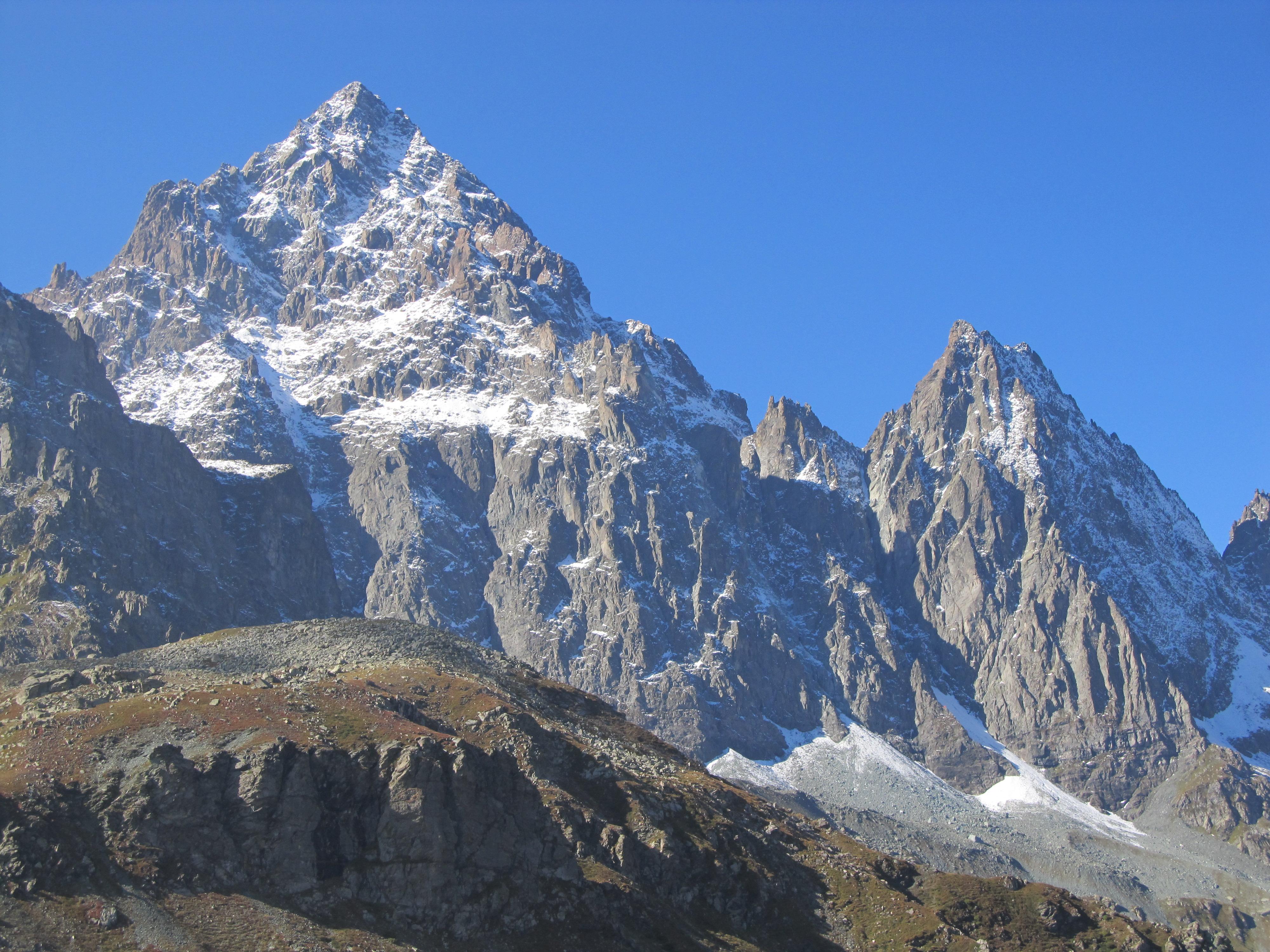 Monviso e Visolotto da Monte Ghincia Pastour