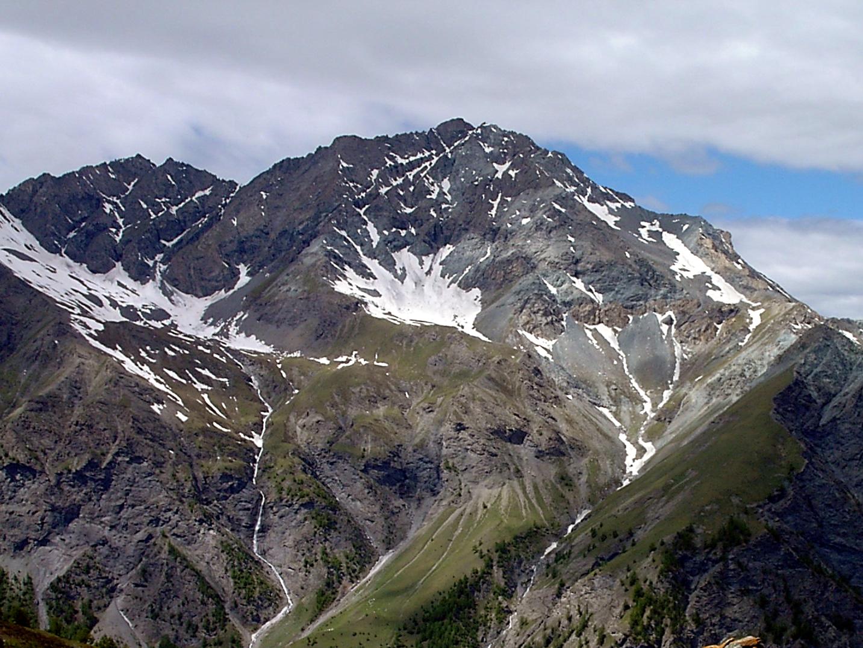 Punta Rognosa 3280 m dalla Val Troncea