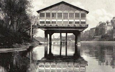 Torino – Esterno Idroscalo Fiume Po 1926