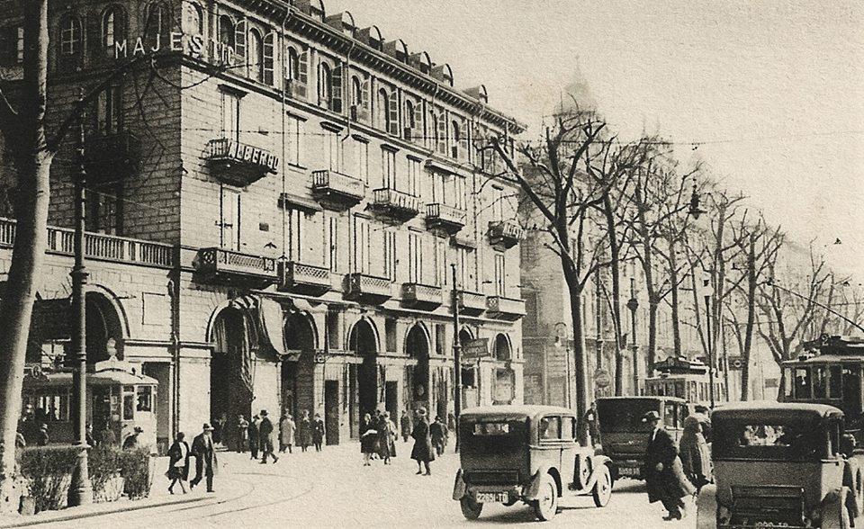 Torino – Grand Hotel Majestic – Corso Vittorio Emanuele. 1930 circa