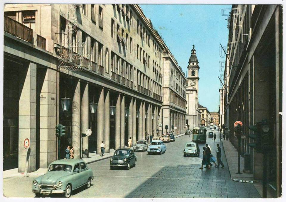 Via Roma anni 60