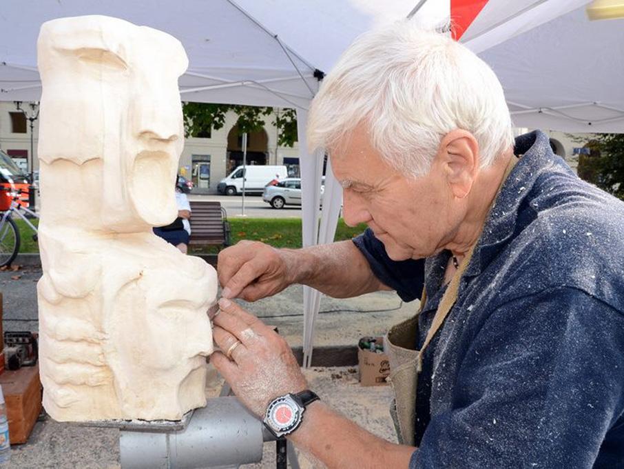 """Photo of Ilario Simonetta, lo """"scultore della fantasia"""" di Borgo San Paolo"""