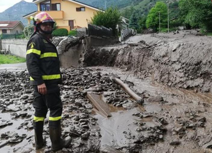Photo of Chiesto lo stato di calamità per Bussoleno, seconda notte all'addiaccio per 130 persone
