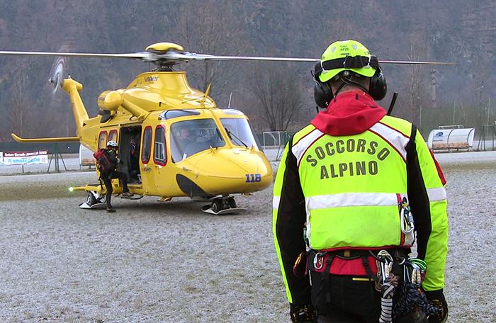 Photo of Soccorso alpino, record di interventi nel 2017: gestite oltre 1.800 chiamate