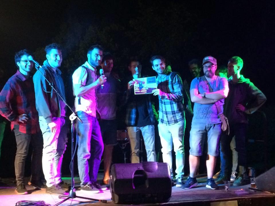 Photo of Il cantautore Michele Reggio vince la Battaglia delle Band 2018