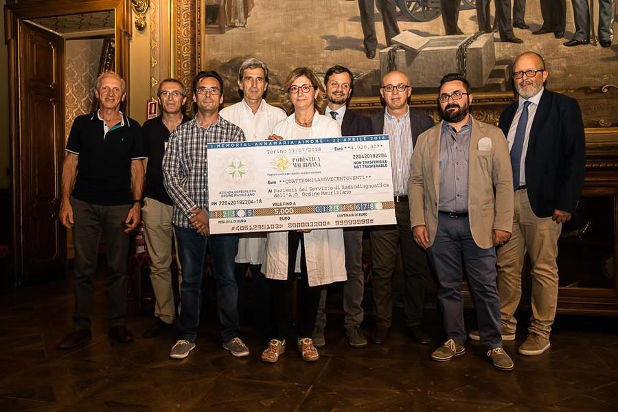 """Photo of """"Corri con il Mauriziano"""", raccolti quasi 5.000 euro per il reparto di radiologia"""
