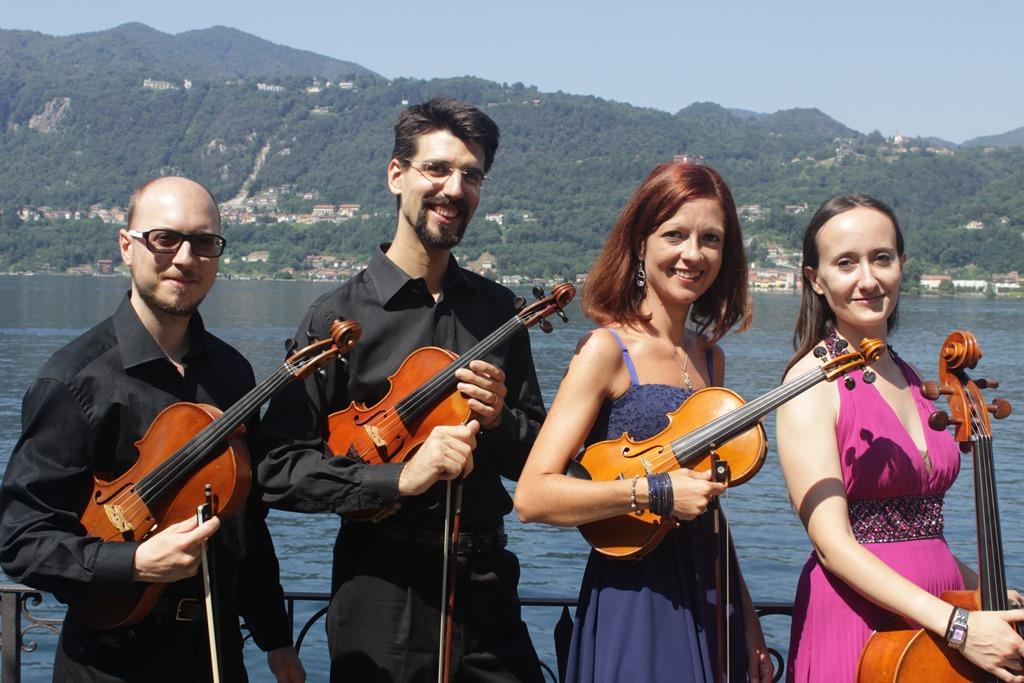 Photo of Giaveno, suggestivo viaggio nella musica da film mercoledì 18 con il Random String Quartet