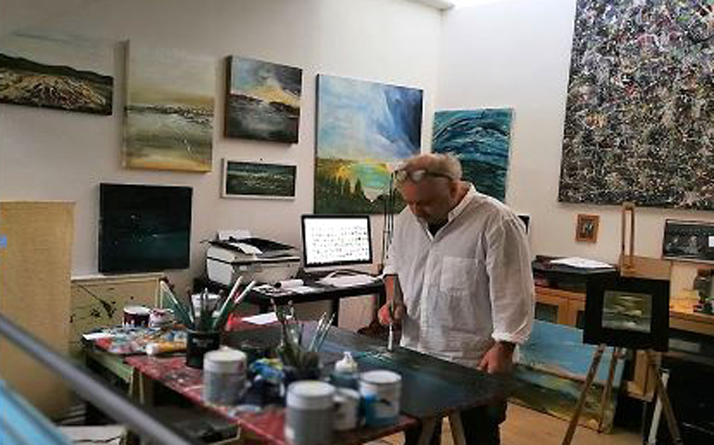 Graziano Rey pittore di Torre Pellice