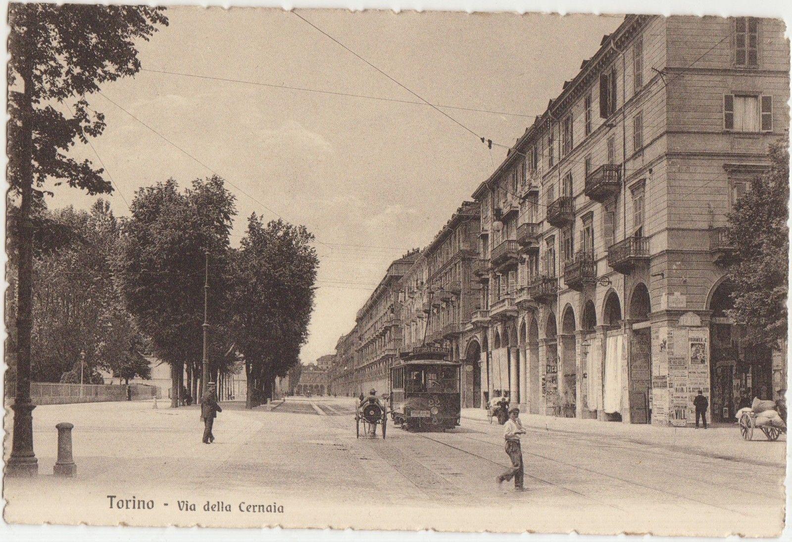 Via Cernaia, antica immagine