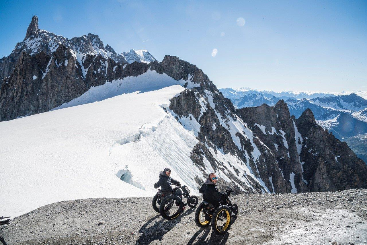 Photo of Alla conquista dell'Himalaya: sport, avventura e solidarietà a bordo di una carrozzina