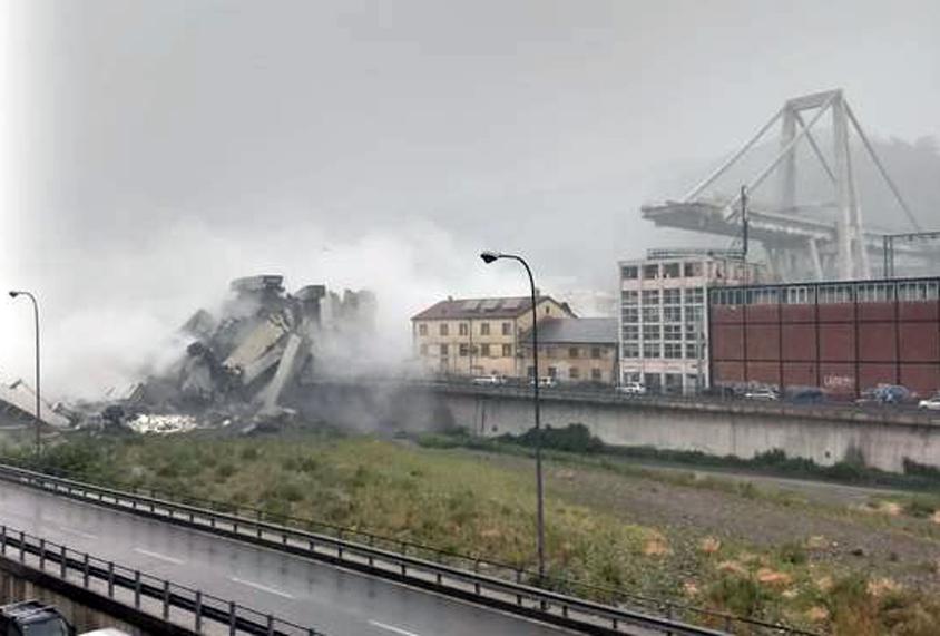 Photo of Crollo del viadotto a Genova, Torino mette a disposizione uomini e mezzi