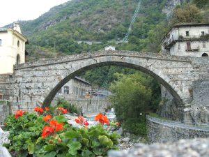 Il ponte romano di Pont Saint Martin