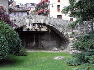 Il ponte romano di Aosta