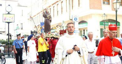 Grandi festeggiamenti a Chivasso in onore del Beato Angelo Carletti