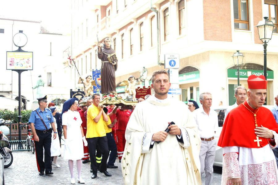 Photo of Grandi festeggiamenti a Chivasso in onore del Beato Angelo Carletti