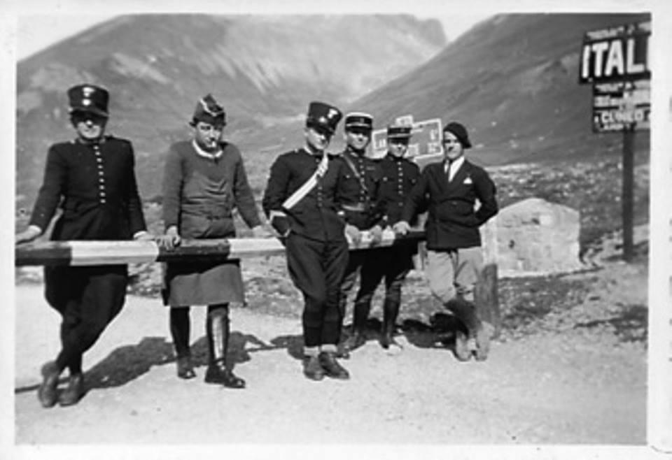 1915 – Argentera (Cuneo) Colle della Maddalena