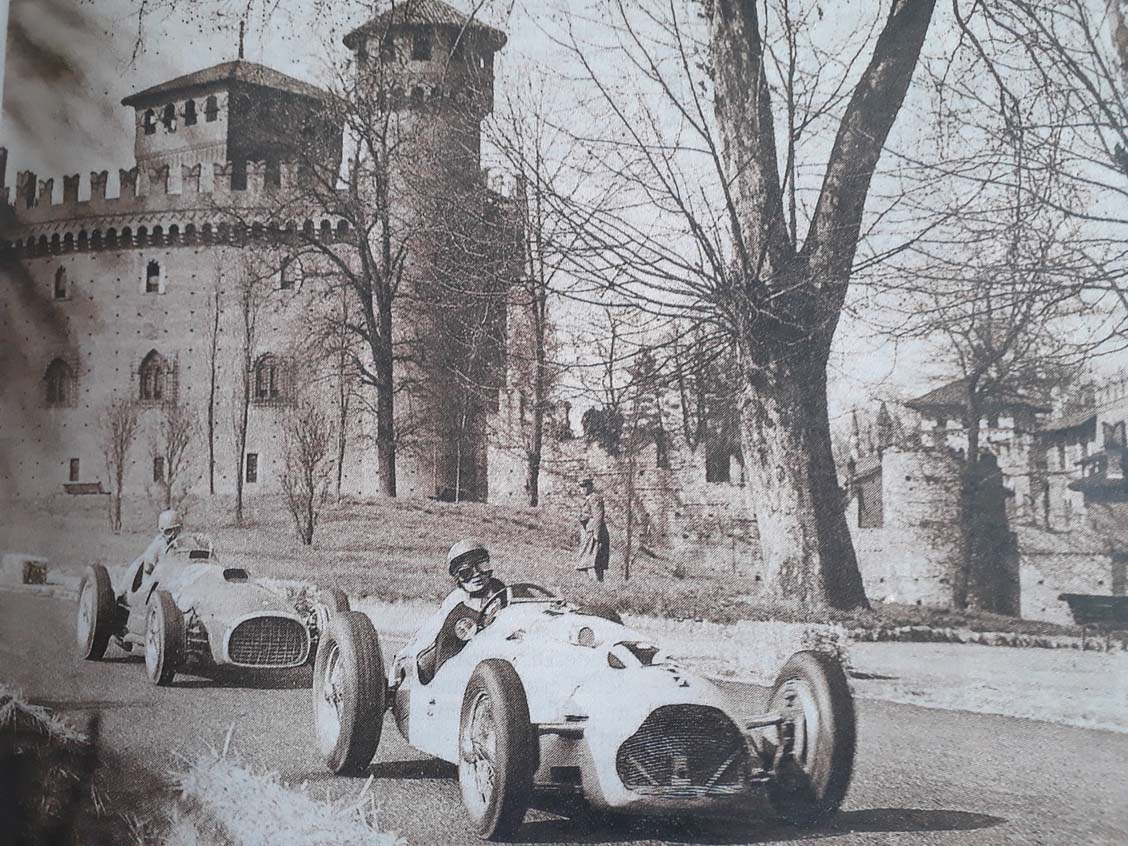 Ascari su Lancia D50 GP del Valentino F1 1955