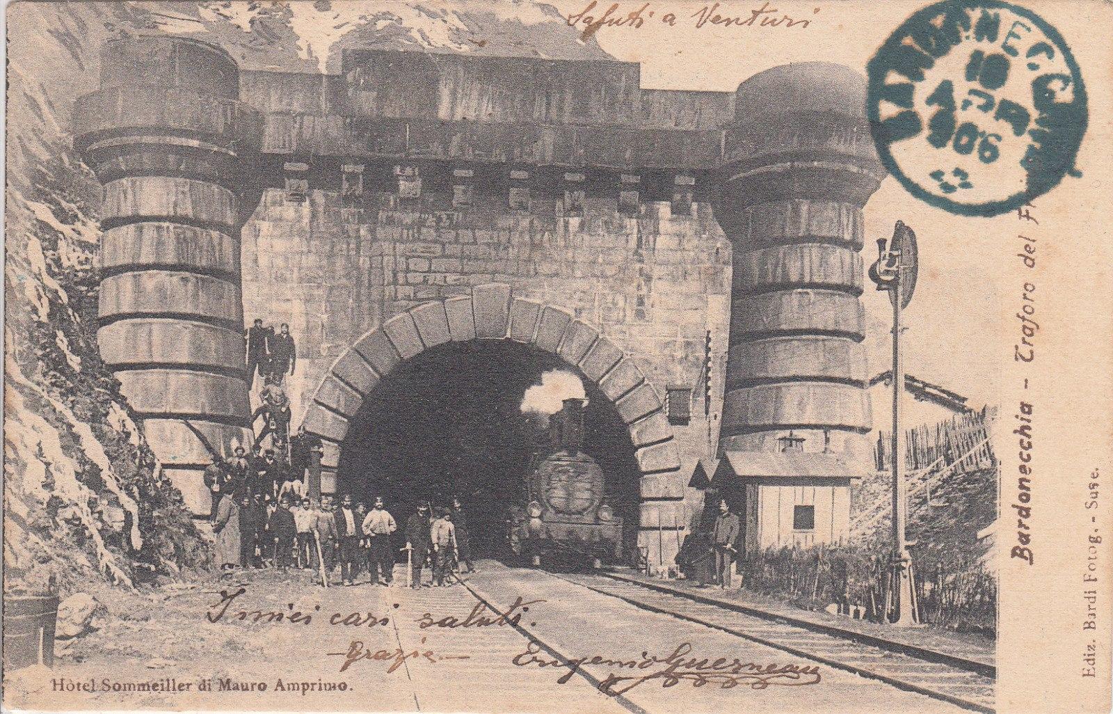 Bardonecchia – Traforo del Frejus – 1906