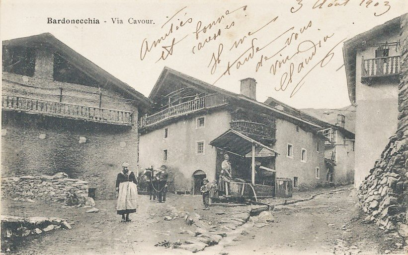 Bardonecchia – Via Cavour – 1903