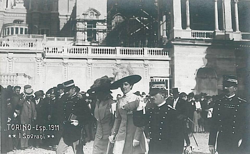 Esposizione di Torino 1911 – I Sovrani