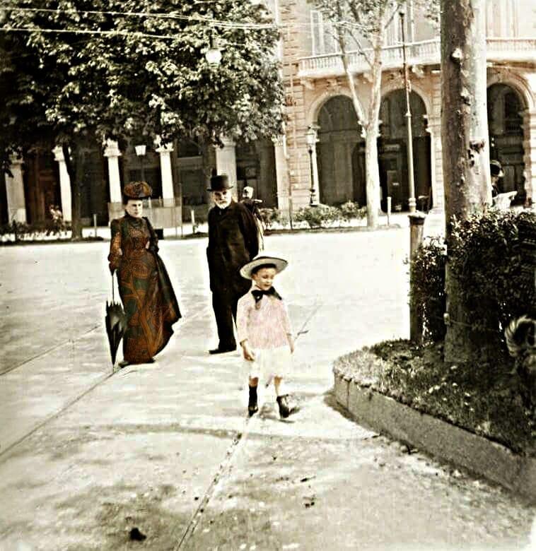 Largo Vittorio Emanuele – anno 1902