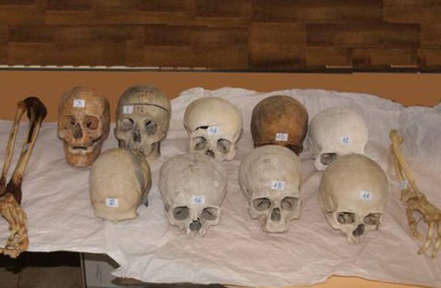 Photo of Vendevano teschi e scheletri in Rete: nei guai due insospettabili piemontesi