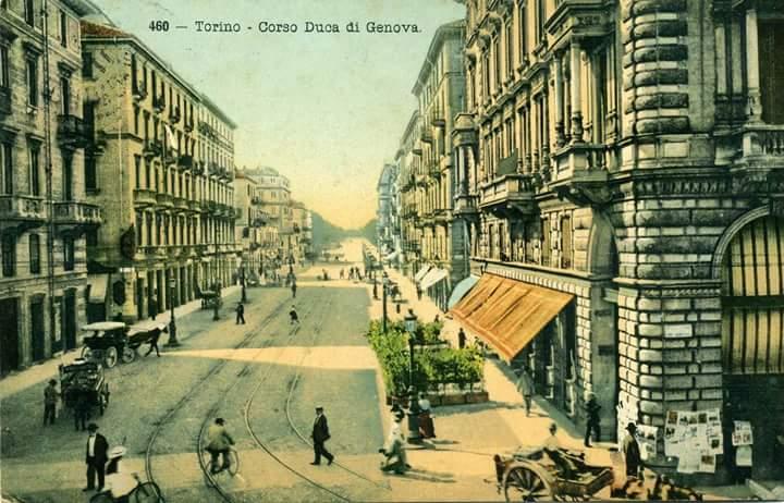 Torino – Corso Duca di Genova 1913