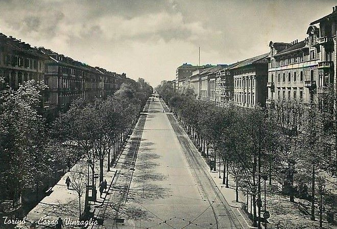 Torino – Corso Vinzaglio – 1912
