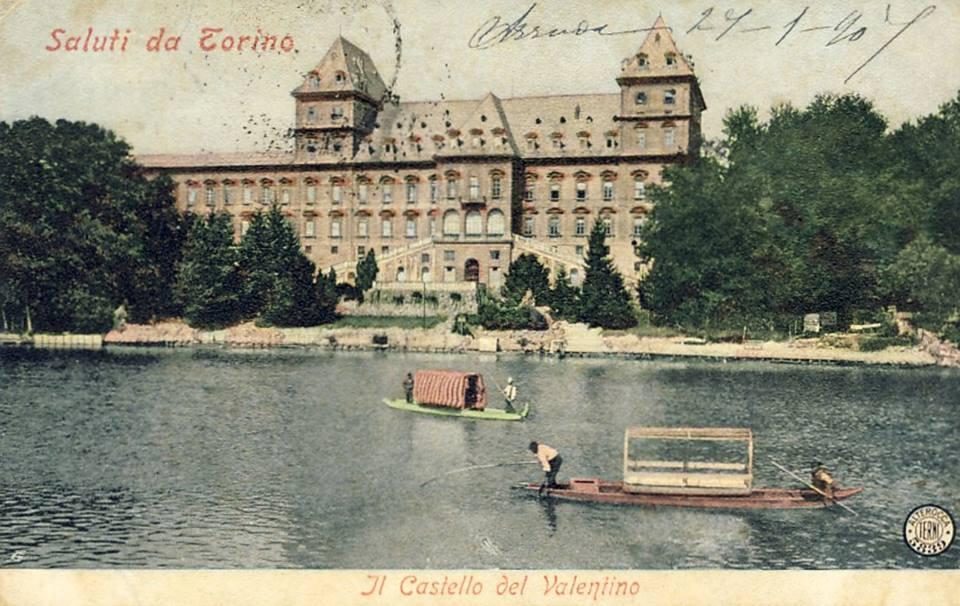 Torino – Il Castello del Valentino – 1907
