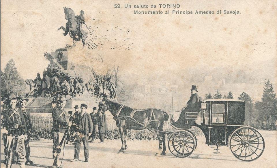 Torino – Monumento al Principe Amedeo di Savoia – 1906