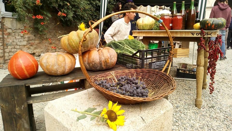 """Photo of """"Fiera delle Autoproduzioni"""", protagoniste alla Cavallerizza mele, zucche, uva e castagne"""