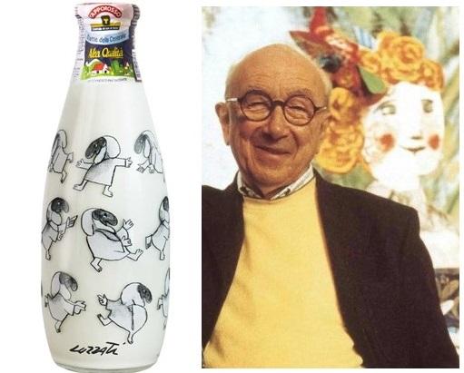 Photo of Centrale del Latte: la bottiglia d'autore di Luzzati in vendita per un mese