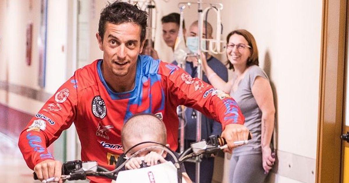 Photo of Ospedale Regina Margherita: spettacolare moto freestyle per i piccoli pazienti