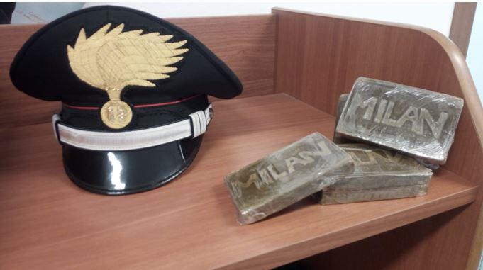 Photo of Ventinovenne fermato ad Asti per un controllo: sotto il sedile aveva mezzo chilo di hashish