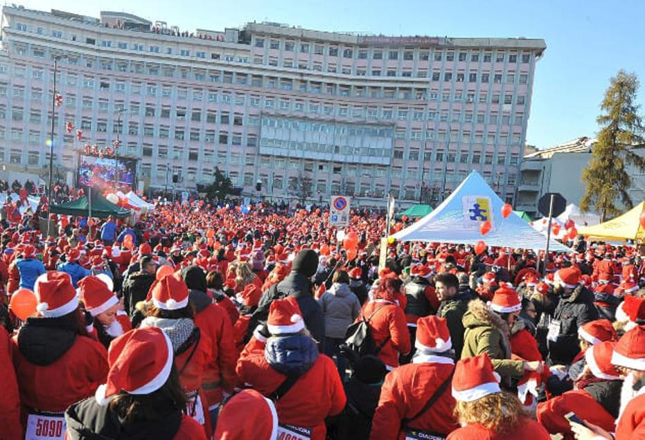 Photo of Raduno dei Babbi Natale, la Fondazione del Regina Margherita è già al lavoro