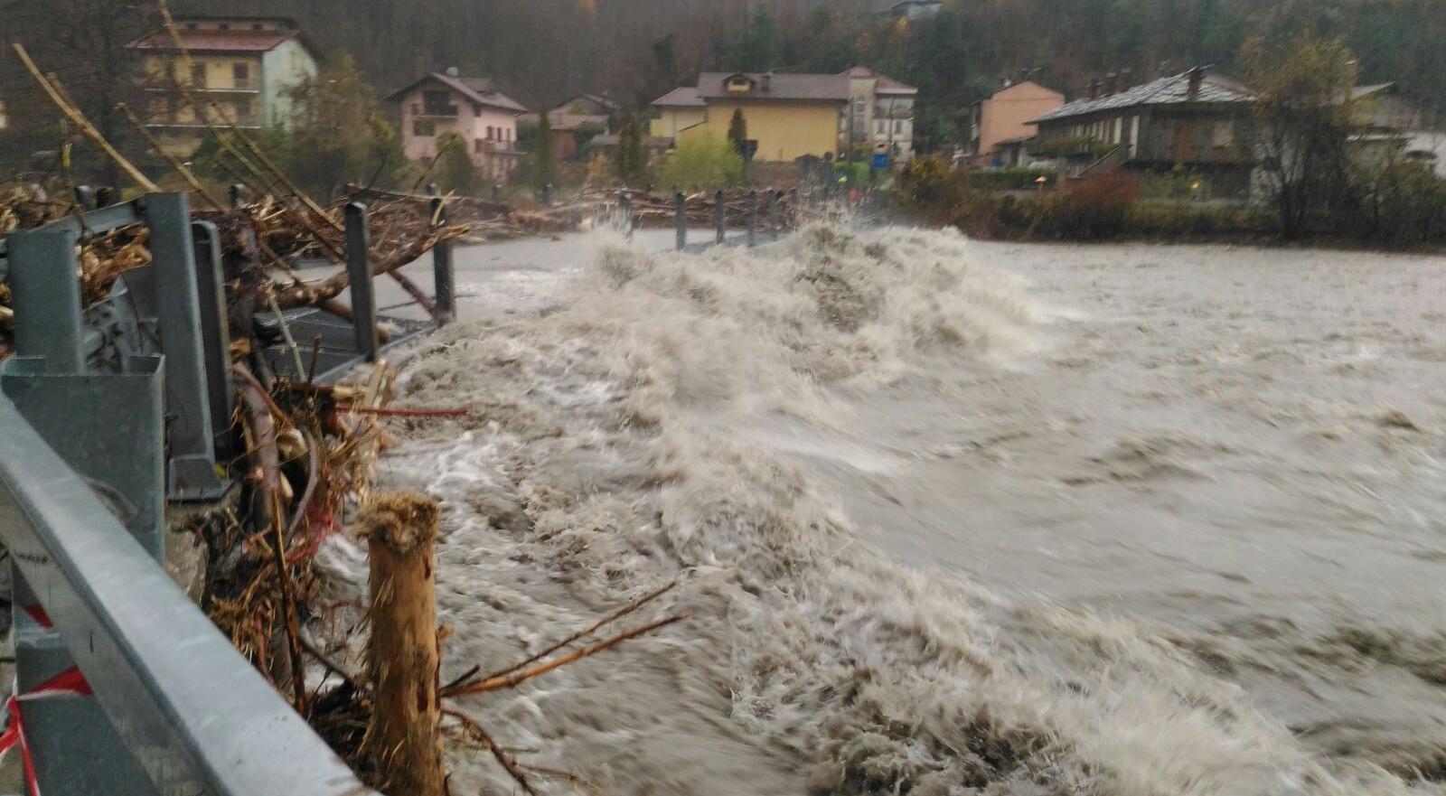 Photo of E' ancora allerta arancione per lunedì sulle vallate occidentali del Piemonte