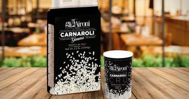"""Edizione limitata del riso Carnaroli con la gemma alla presentazione della guida """"I Cento di Torino 2019"""""""