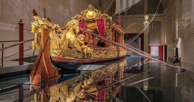 """Reggia di Venaria, il """"Bucintoro"""" fa rivivere gli antichi viaggi sull'acqua dei Savoia"""