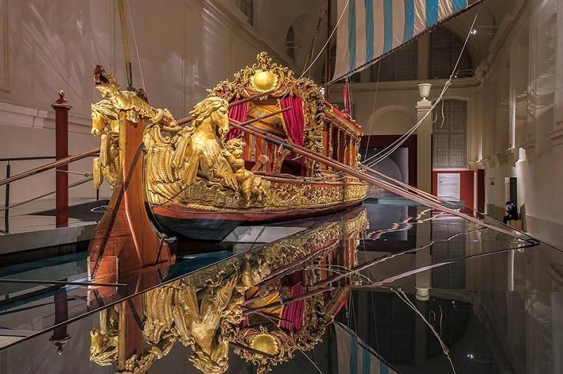 """Photo of Reggia di Venaria, il """"Bucintoro"""" fa rivivere gli antichi viaggi sull'acqua dei Savoia"""