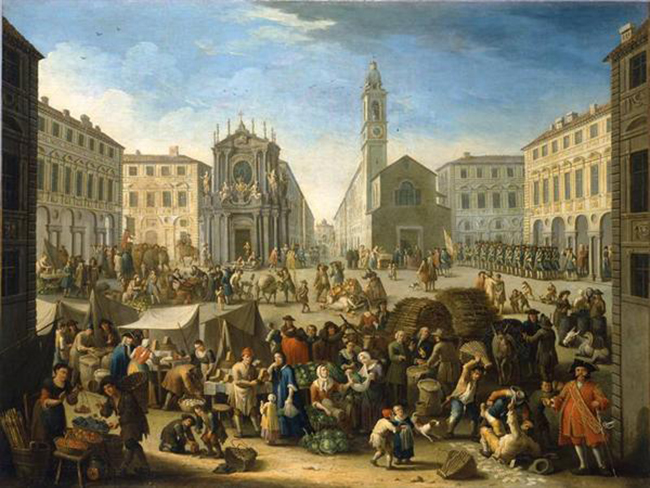 """Photo of Arte: la poetica di taverne, mercati e feste di piazza del """"bambocciante"""" Michele Graneri"""
