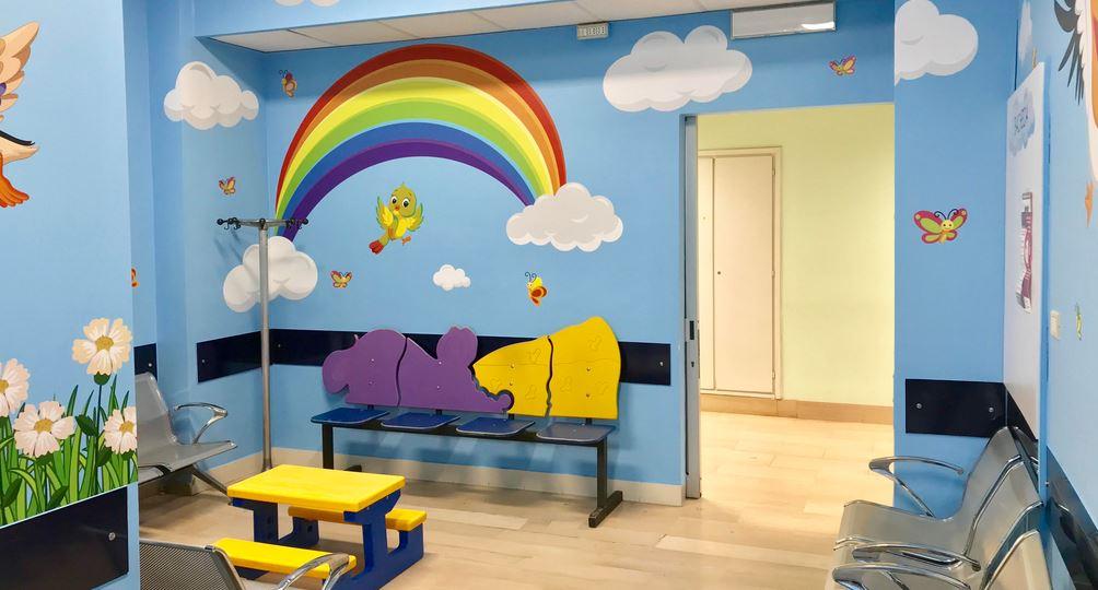 Photo of Nuvoletta, una sala d'aspetto a misura di bambino all'ospedale Regina Margherita