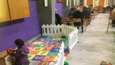 Photo of Nella chiesa S. Giulio d'Orta  i bambini giocano a Messa
